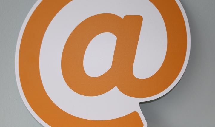 @ symbol against a plain background